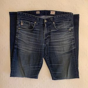 Ag adriano goldschmied matchbox slim straight Jean